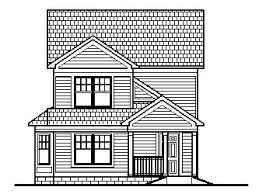 traditional 2 story house plans story small home design narrow lot tiny house floor plans 4 bedroom