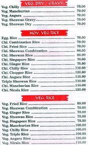 food corner menu menu for food corner marol mumbai zomato