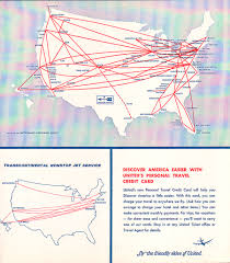 Skywest Route Map by United Airlines