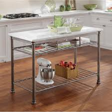 marble top kitchen island cart kitchen amazing rolling kitchen cart marble island top kitchen