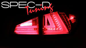 lexus is 250 dimensions 2008 specdtuning demo video 2006 2008 lexus is250 is350 led tail