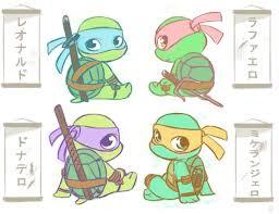 teenage mutant ninja turtles u003c3