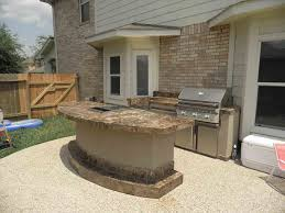 Backyard Grill Houston Tx by Outstanding Outdoor Kitchens Backyard Patio With Breathtaking