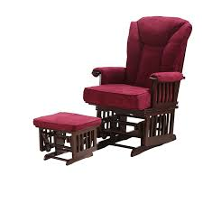 Rocking Chair With Ottoman For Nursery Find More Living Room Chairs Information About Modern Wood Glider