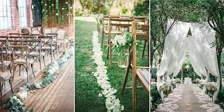 wedding ceremony decoration ideas top 10 wedding aisle decoration ideas to emmalovesweddings