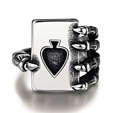 cool claws cool design 316l stainless steel claws finger ring 8 12