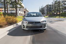 mitsubishi 2 door car 2017 mitsubishi lancer 2 4 awd first test review