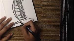 drawing the burj al arab youtube