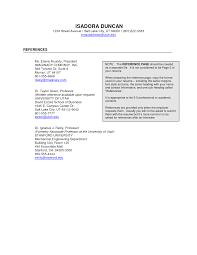 Resume Templates Reference Page Cover Letter Template For Reference Page Resume Format Resume