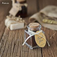 wedding souvenir coffee in the jar by kanoo paper gift