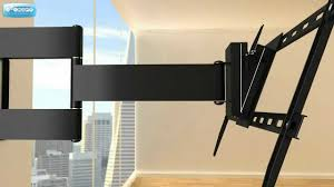 Wall Mount 47 Inch Tv Double Arm Articulating Wall Mount For 37