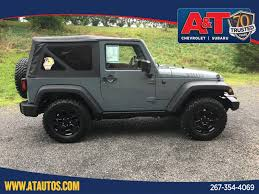 jeep subaru used 2015 jeep wrangler willys wheeler for sale in sellersville