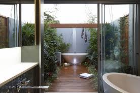 contemporary outdoor bathroom design for inspiring bathroom