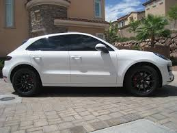 porsche macan 2016 white bumperplugs painted sidemarkers porsche macan forum
