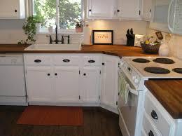 Best  Butcher Block Kitchen Ideas On Pinterest Butcher Block - White kitchen cabinets with butcher block countertops