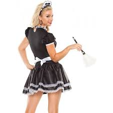 french halloween costumes flirty french maid halloween costume
