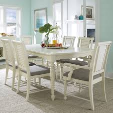 white rectangle kitchen table broyhill dining room furniture modern gloss white rectangle dining