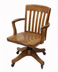 american oak swivel office chair murphy chair co lot 63 antique wood swivel desk chair