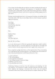 9 high student cover letter samples invoice template format