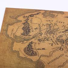 map from lord of the rings vintage lord of the rings middle earth map lotr my deal zilla