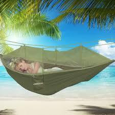 ubegood hammock swing load 200kg portable parachute nylon fabric