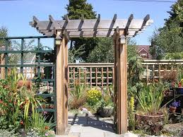 Arbor Trellis Plans Traditional Landscape And Yard With Fence By David Stein Zillow