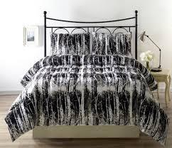 silhuett down alternative reversible comforter set camouflage