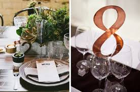 table numbers with pictures industrial chic wedding table numbers
