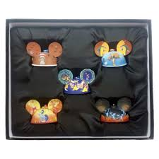 your wdw store disney ornament set fantasia ear hat