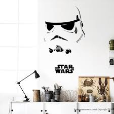 18 star wars decals for walls star wars clone trooper group peel star wars decals for walls