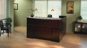 L Shaped Reception Desk Counter Mayline Sorrento Reception Station Srcslm Sorrento Reception Desk