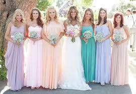 wedding bridesmaid dresses 25 hot wedding color combination ideas 2016 2017 and bridesmaid