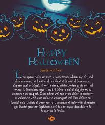 vector halloween halloween posters beautiful background 02 vector free vector 4vector