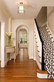 home design artwork in cozy transitional staircase ideas with