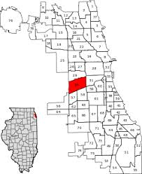 12th ward chicago map south lawndale chicago