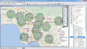 Pasadena Zip Code Map by Maptitude 2016 Rings Radius Radii Maps With Demographics Youtube