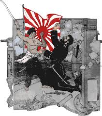 Japan War Flag Clipart Russo Japanese War Combatants Remix