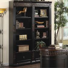 blanchard double bookcase