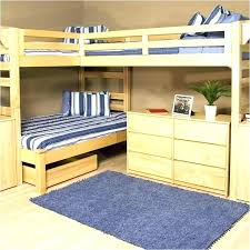 used bunk bed with desk cheap l shaped bunk beds sdautomuseum info