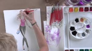 fashion illustration how to draw and paint figures youtube