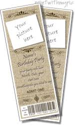 printable ticket templates party ticket invitation templates to