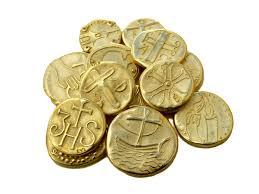 arras de oro arras de boda paleocristianas oro