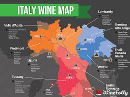 Map Of Tuscany Italy Map Of Italian Wine Regions Wine Folly
