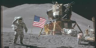 Picture Of Flag On Moon Bbc Future The Strangest Objects We U0027ve Left On The Moon