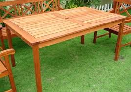 Build A Patio Table Outdoor Wood Table Ladyroom Club