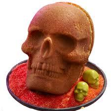 skull pound cake pumpkin spice pound cake recipe wilton