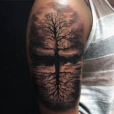 collection of 25 tree of sleeve tattoos