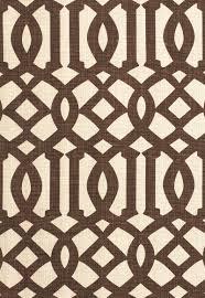 174413 imperial trellis ii java cream by fschumacher fabric