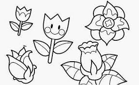 dibujos colorear maestra infantil primaria flores