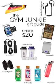 a gift guide for the gym junkie gym gift and craft